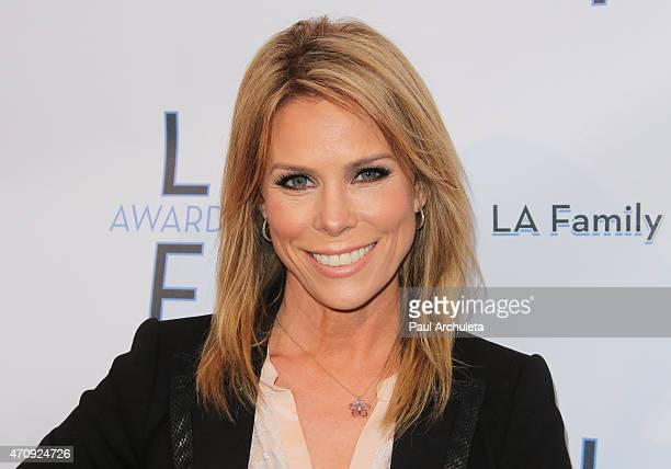 Actress Cheryl Hines attends the 'LA Family Housing Awards 2015' at The Lot on April 23 2015 in West Hollywood California