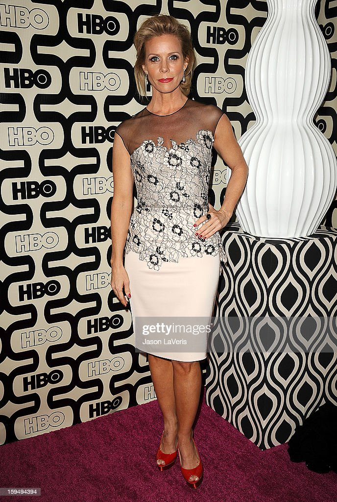 Actress Cheryl Hines attends the HBO after party at the 70th annual Golden Globe Awards at Circa 55 restaurant at the Beverly Hilton Hotel on January 13, 2013 in Los Angeles, California.