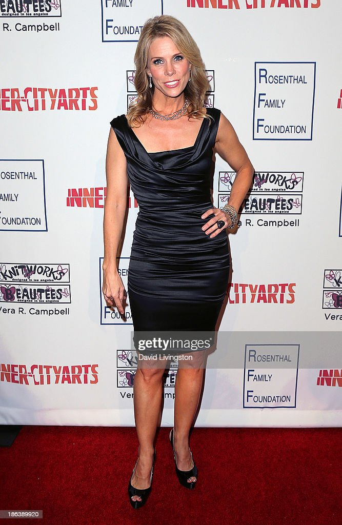 Actress Cheryl Hines attends the Inner-City Arts 2013 Imagine Gala at the Beverly Hilton Hotel on October 30, 2013 in Beverly Hills, California.
