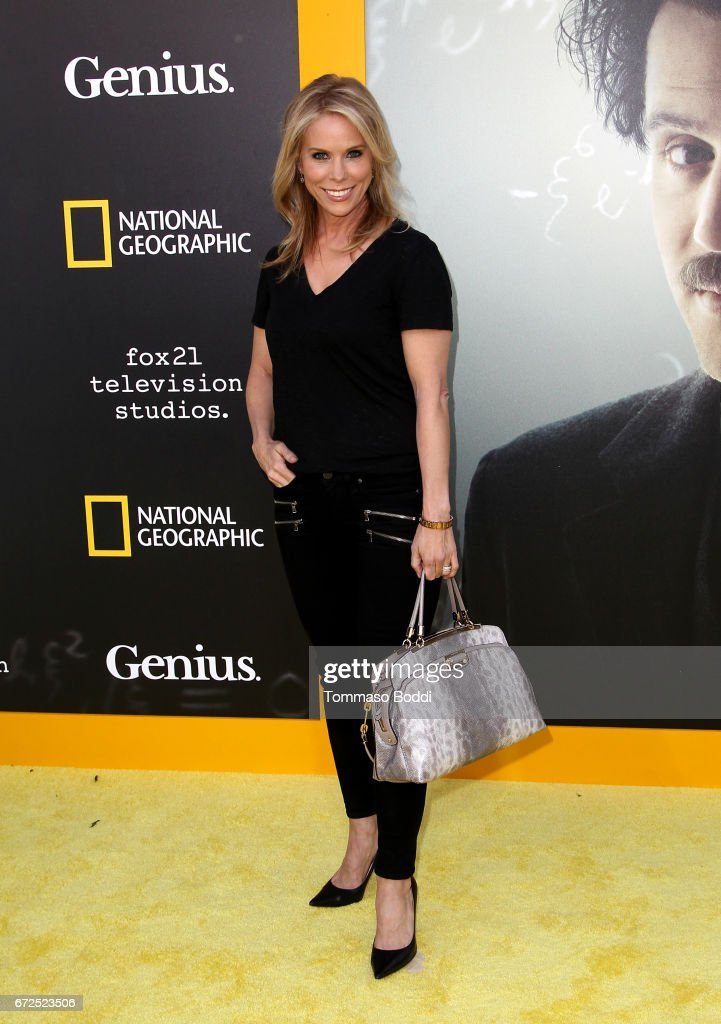 Actress Cheryl Hines attends the Los Angeles Premiere Screening of National Geographics 'Genius' the Fox Theater on April 24, 2017 in Los Angeles, California.
