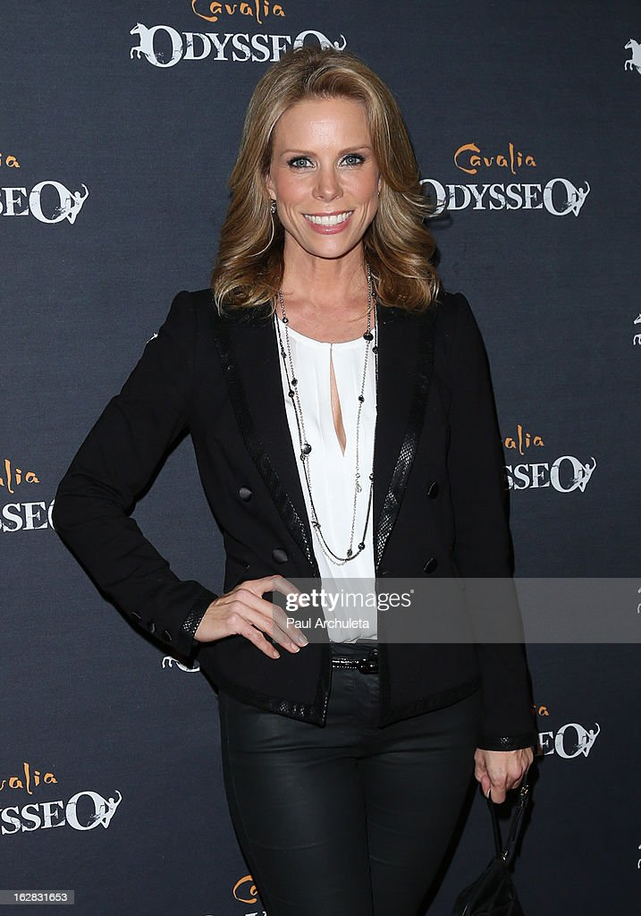 Actress Cheryl Hines attends the opening night for Cavalia's 'Odysseo' at the Cavalia's Odysseo Village on February 27, 2013 in Burbank, California.