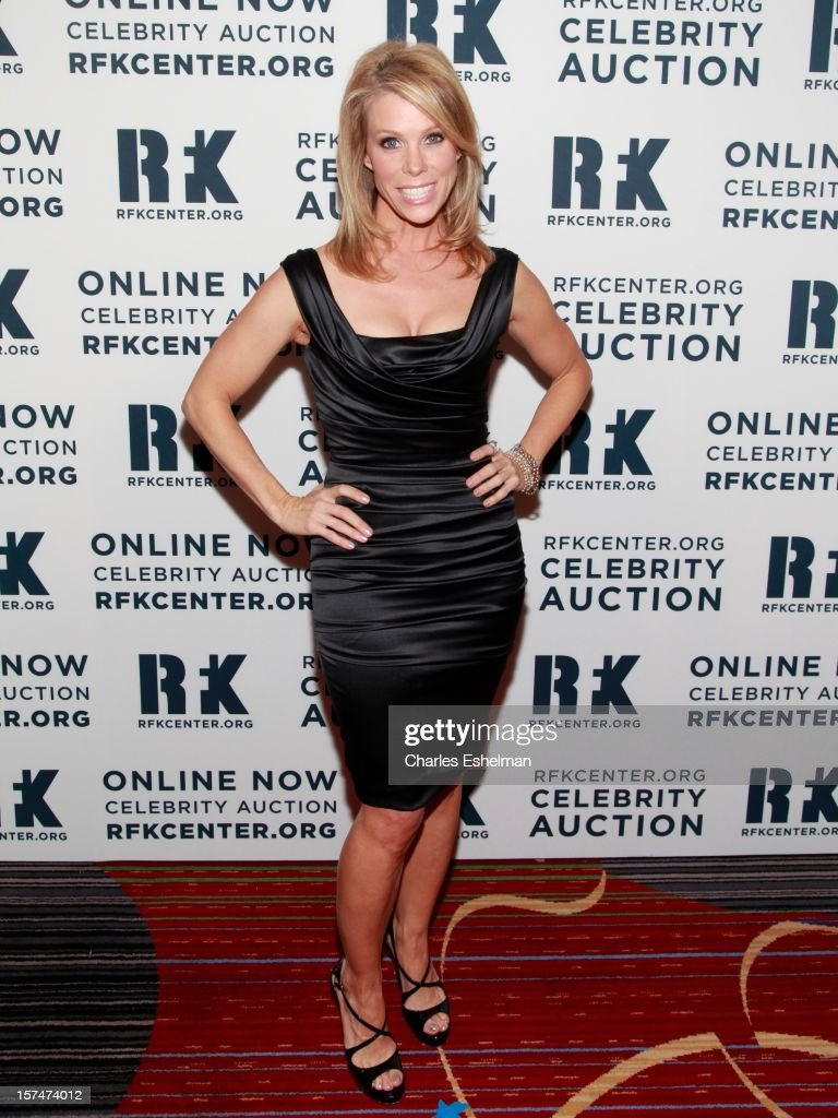 Actress Cheryl Hines attends the Robert F. Kennedy Center for Justice and Human Rights 2012 Ripple of Hope gala at The New York Marriott Marquis on December 3, 2012 in New York City.