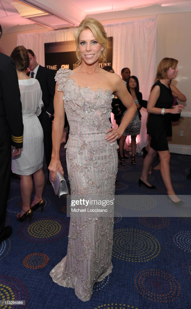 Actress Cheryl Hines attends the TIME/CNN/People/Fortune White House Correspondents' dinner cocktail party at the Washington Hilton on April 30, 2011 in Washington, DC.