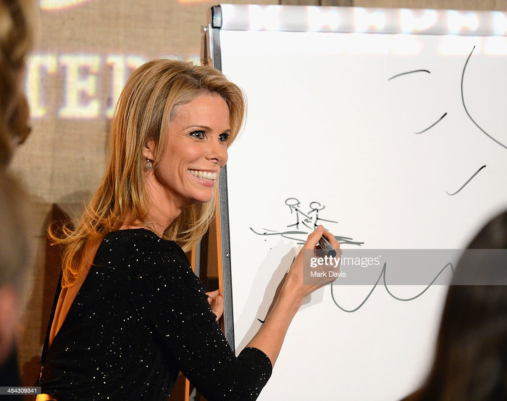 Actress <a gi-track='captionPersonalityLinkClicked' href=/galleries/search?phrase=Cheryl+Hines&family=editorial&specificpeople=209249 ng-click='$event.stopPropagation()'>Cheryl Hines</a> attends the Waterkeeper Alliance Benefit during Day 2 of the Deer Valley Celebrity Skifest held at Montage Deer Valley on December 7, 2013 in Park City, Utah.