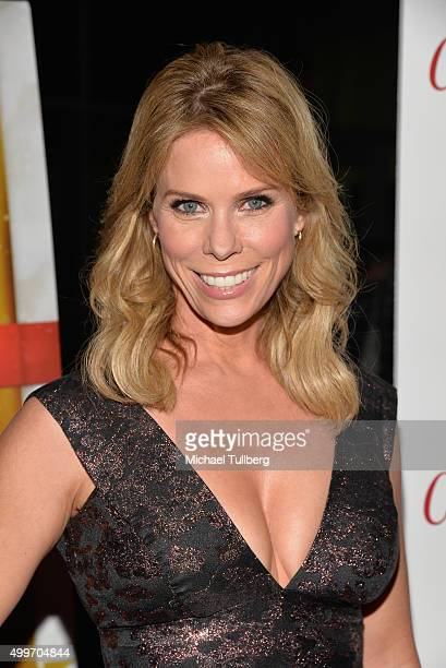 Actress Cheryl Hines attends the world premiere of Unstuck's 'Christmas Eve' at ArcLight Hollywood on December 2 2015 in Hollywood California