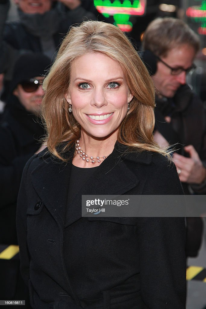 Actress Cheryl Hines visits 'Good Morning America' at GMA Studios in Times Square on February 6, 2013 in New York City.