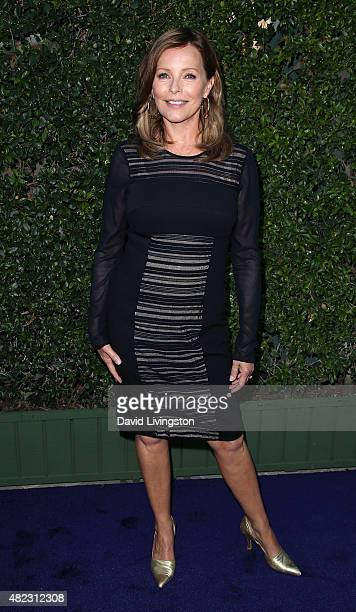 Actress Cheryl Ladd attends Hallmark Channel and Hallmark Movies and Mysteries at the 2015 Summer TCA Tour at a private residence on July 29 2015 in...