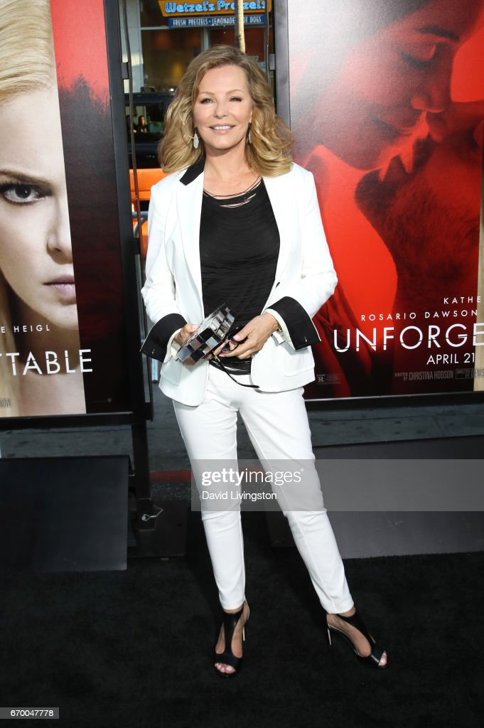Actress Cheryl Ladd attends the premiere of Warner Bros. Pictures' 'Unforgettable' at TCL Chinese Theatre on April 18, 2017 in Hollywood, California.