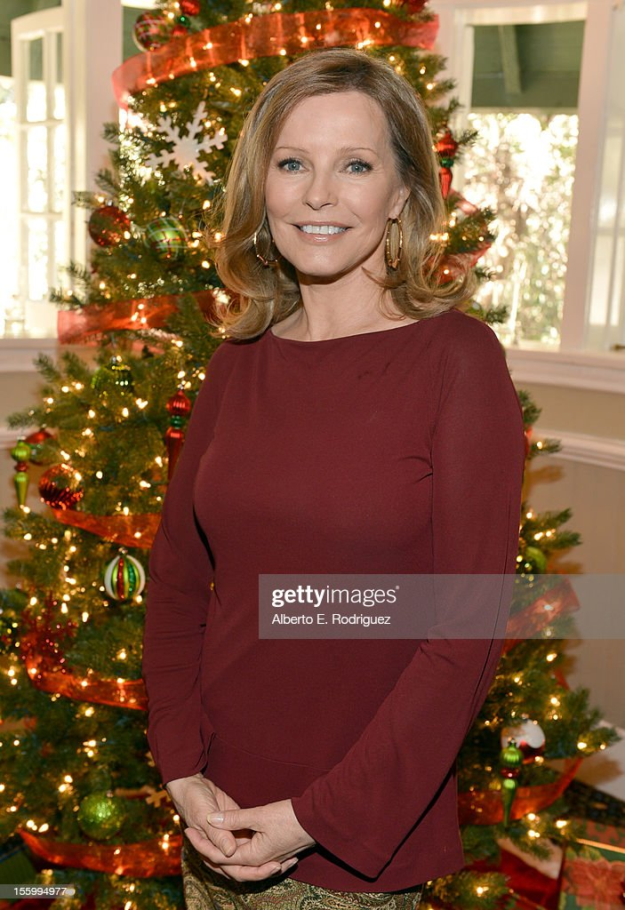 Actress <a gi-track='captionPersonalityLinkClicked' href=/galleries/search?phrase=Cheryl+Ladd&family=editorial&specificpeople=208771 ng-click='$event.stopPropagation()'>Cheryl Ladd</a> attends the 'Santa Paws 2: The Santa Pups' holiday party hosted by Disney, <a gi-track='captionPersonalityLinkClicked' href=/galleries/search?phrase=Cheryl+Ladd&family=editorial&specificpeople=208771 ng-click='$event.stopPropagation()'>Cheryl Ladd</a>, and Ali Landry at The Victorian on November 10, 2012 in Santa Monica, California.