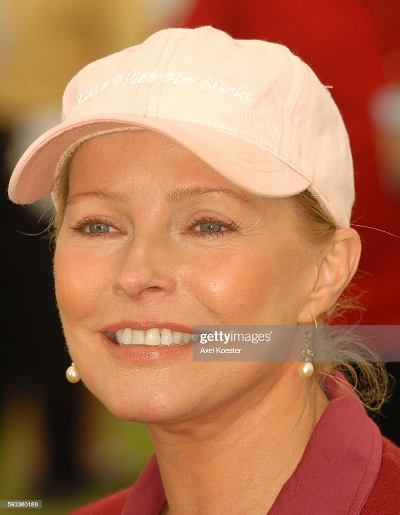 Actress Cheryl Ladd plays in the Ninth Annual Michael Douglas Friends Celebrity Golf Tournament at the Trump National Golf Club in Rancho Palos...