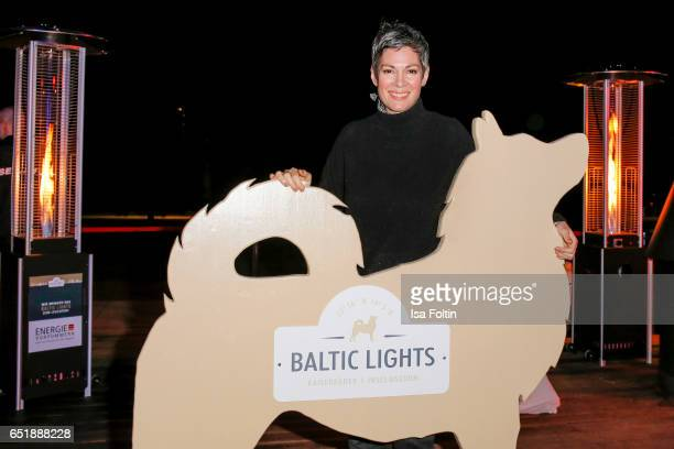 US actress Cheryl Shepard attends the 'Baltic Lights' charity event on March 10 2017 in Heringsdorf Germany Every year German actor Till Demtroder...