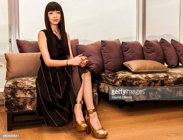 Actress Chiaki Kuriyama of Japan poses for portrait on March 24 2014 in Hong Kong Hong Kong