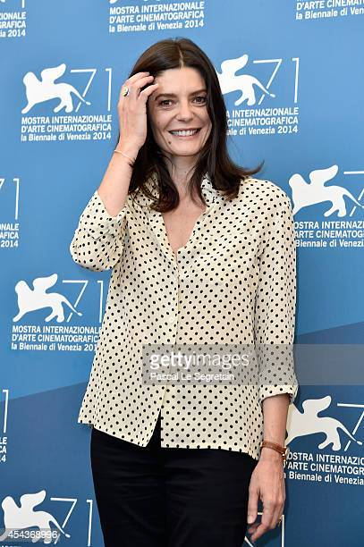 Actress Chiara Mastroianni attends the '3 Coeurs' photocall during the 71st Venice Film Festival on August 30 2014 in Venice Italy
