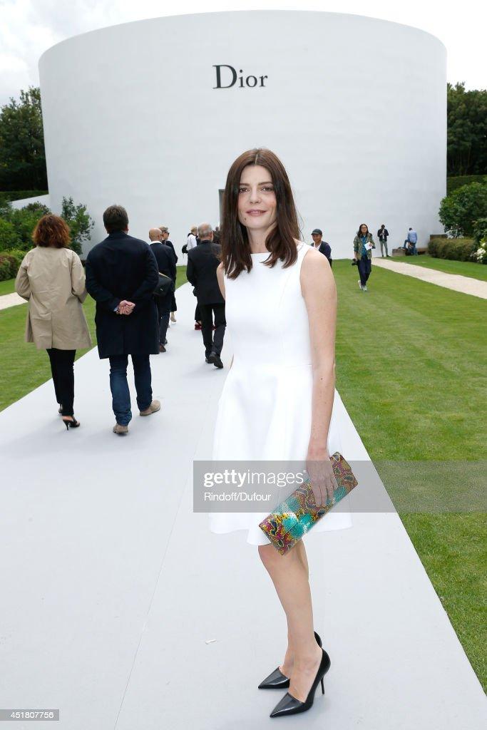 Christian Dior : Outside Arrivals - Paris Fashion Week : Haute-Couture Fall/Winter 2014-2015
