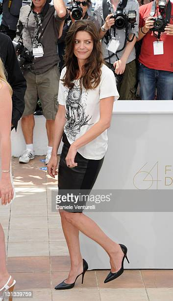 Actress Chiara Mastroianni attends the 'Les BienAimes' Photocall during the 64th Cannes Film Festival at the Palais des Festivals on May 21 2011 in...