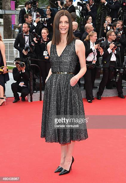 Actress Chiara Mastroianni attends the Opening Ceremony and the 'Grace of Monaco' premiere during the 67th Annual Cannes Film Festival on May 14 2014...