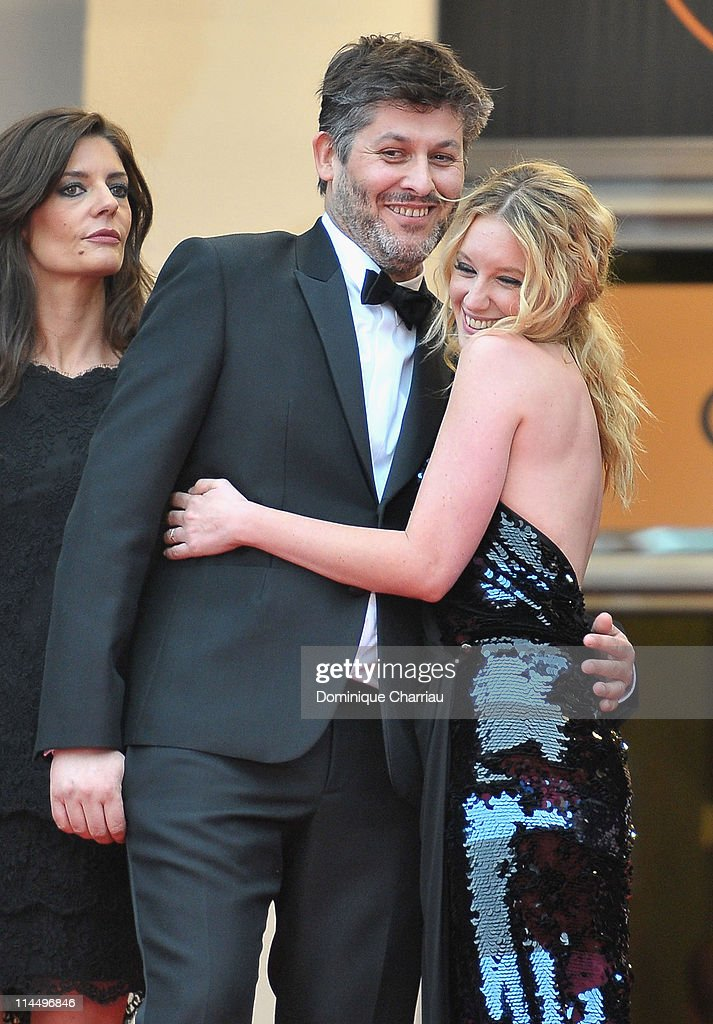 Actress Chiara Mastroianni director Christophe Honore and actress Ludivine Sagnier attends the 'Les BienAimes' Premiere and Closing Ceremony during...