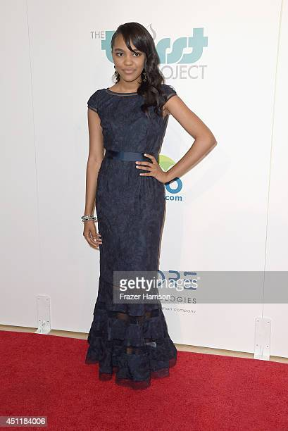 Actress China Anne McClain arrives at the 5th Annual Thirst Gala Hosted By Jennifer Garner In Partnership With Skyo And Relativity's 'Earth To Echo'...