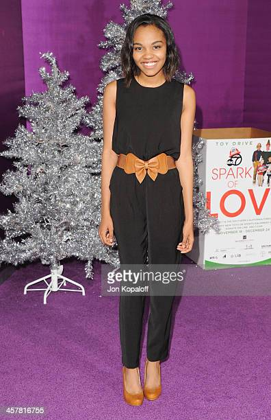 Actress China Anne McClain arrives at the Los Angeles Premiere 'Justin Bieber's Believe' at Regal Cinemas LA Live on December 18 2013 in Los Angeles...