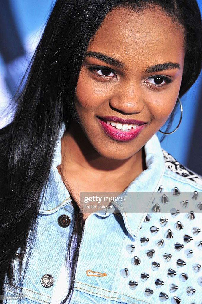Actress <a gi-track='captionPersonalityLinkClicked' href=/galleries/search?phrase=China+Anne+McClain&family=editorial&specificpeople=4142795 ng-click='$event.stopPropagation()'>China Anne McClain</a> arrives at the premiere Of Marvel's 'Captain America:The Winter Soldier at the El Capitan Theatre on March 13, 2014 in Hollywood, California.
