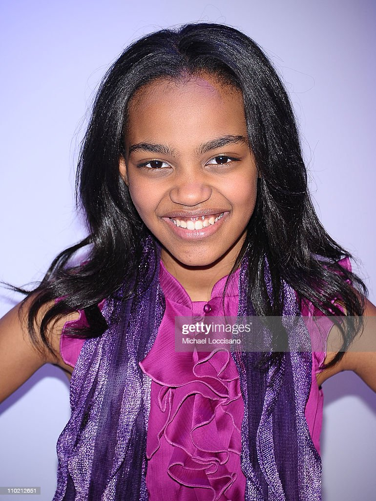 Actress China Anne McClain attends the 2011 Disney Kids & Family upfront at Gotham Hall on - actress-china-anne-mcclain-attends-the-2011-disney-kids-family-at-picture-id110212651