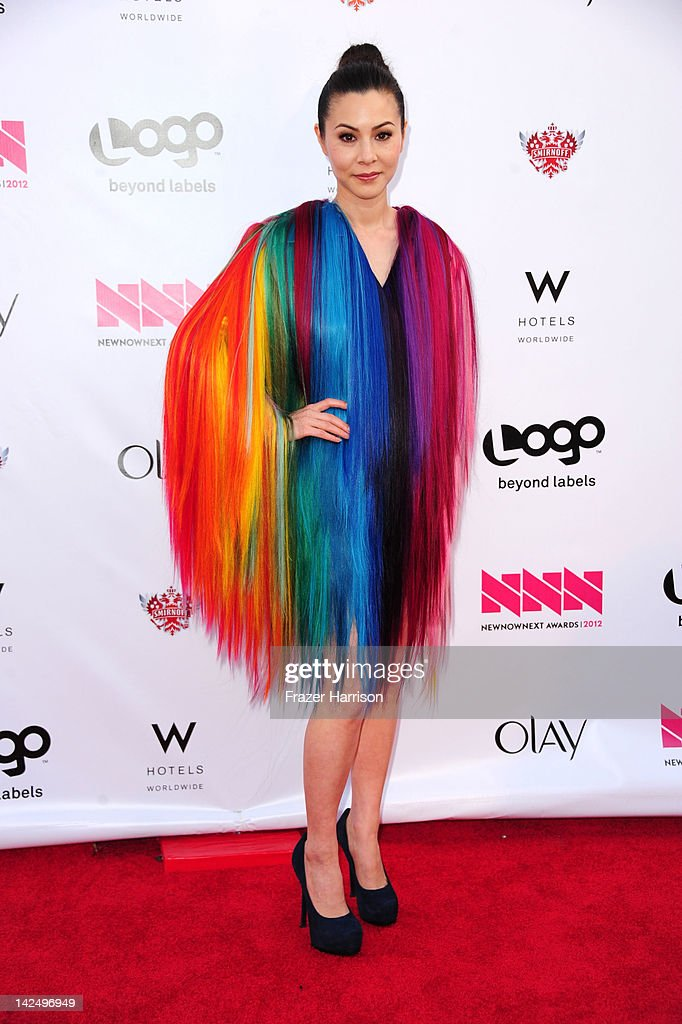 Actress China Chow attends Logo's 'NewNowNext Awards' 2012 at Avalon on April 5, 2012 in Hollywood, California.