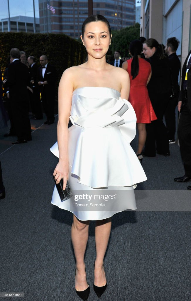 Actress <a gi-track='captionPersonalityLinkClicked' href=/galleries/search?phrase=China+Chow&family=editorial&specificpeople=581526 ng-click='$event.stopPropagation()'>China Chow</a> attends MOCA's 35th Anniversary Gala presented by Louis Vuitton at The Geffen Contemporary at MOCA on March 29, 2014 in Los Angeles, California.