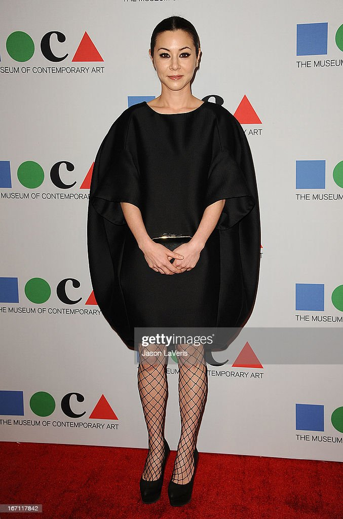 Actress China Chow attends the 2013 MOCA Gala at MOCA Grand Avenue on April 20, 2013 in Los Angeles, California.