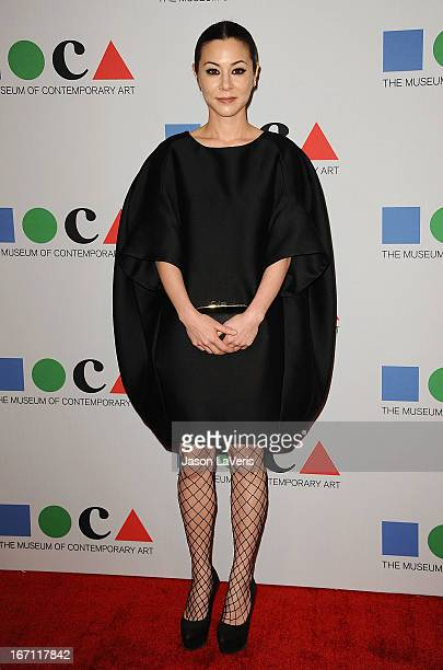 Actress China Chow attends the 2013 MOCA Gala at MOCA Grand Avenue on April 20 2013 in Los Angeles California