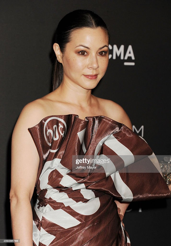 Actress China Chow attends the 2014 LACMA Art + Film Gala honoring Barbara Kruger and Quentin Tarantino presented by Gucci at LACMA on November 1, 2014 in Los Angeles, California.