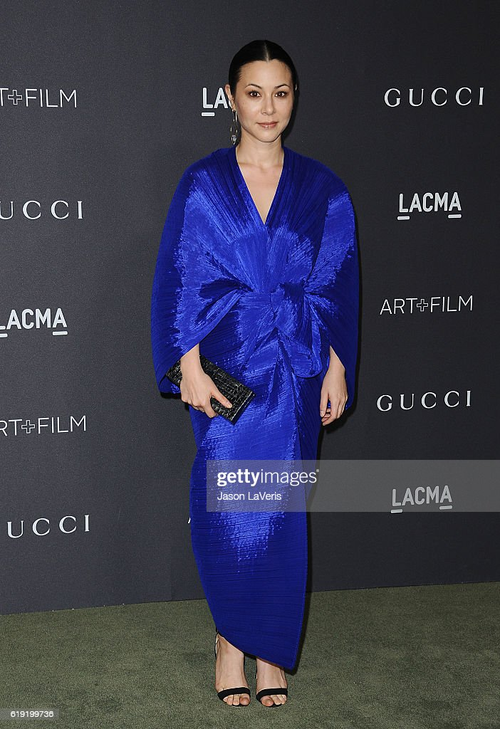 Actress China Chow attends the 2016 LACMA Art + Film gala at LACMA on October 29, 2016 in Los Angeles, California.