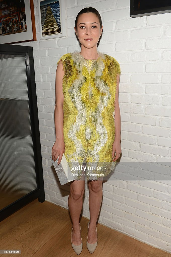 Actress China Chow attends the Aby Rosen & Samantha Boardman dinner at The Dutch on December 6, 2012 in Miami, Florida.