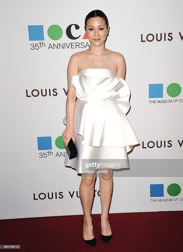 Actress <a gi-track='captionPersonalityLinkClicked' href=/galleries/search?phrase=China+Chow&family=editorial&specificpeople=581526 ng-click='$event.stopPropagation()'>China Chow</a> attends the MOCA 35th anniversary gala celebration at The Geffen Contemporary at MOCA on March 29, 2014 in Los Angeles, California.