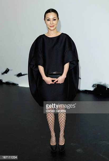 "Actress China Chow attends ""Yesssss"" MOCA Gala 2013 Celebrating the Opening of the Exhibition Urs Fischer at MOCA Grand Avenue and The Geffen..."