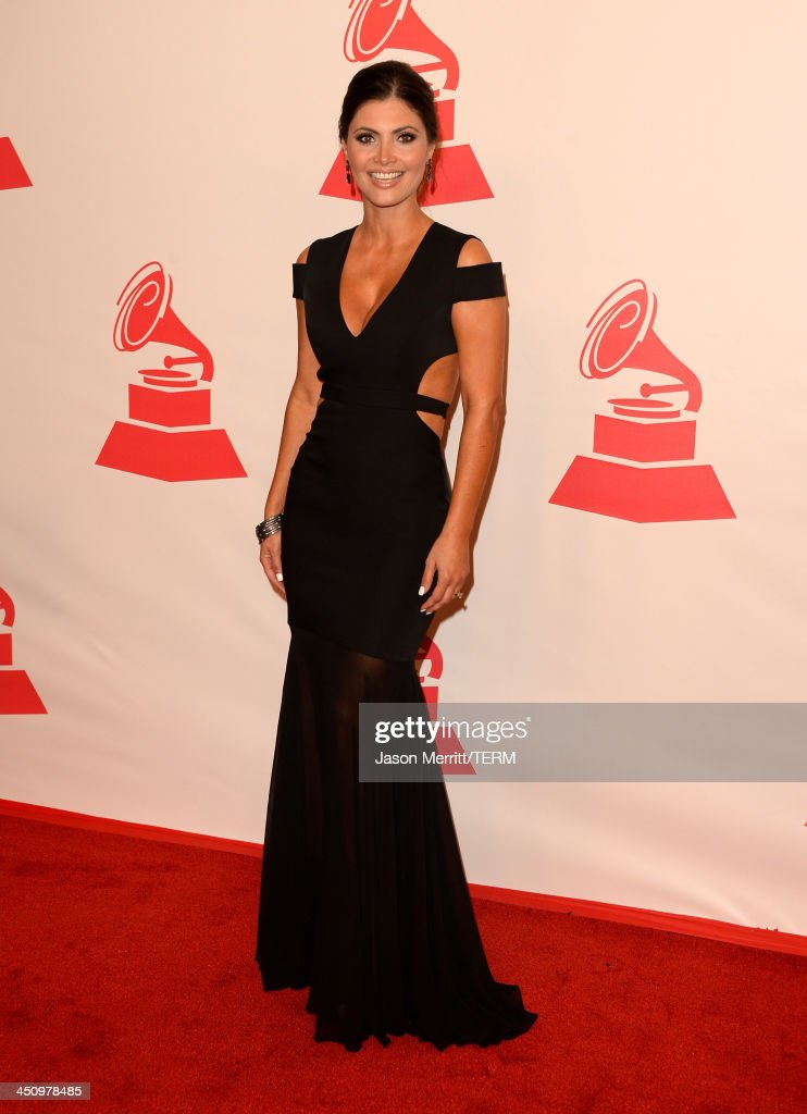 Actress Chiquinquirá Delgado arrives at the 2013 Latin Recording Academy Person Of The Year honoring Miguel Bose at the Mandalay Bay Convention Center on November 20, 2013 in Las Vegas, Nevada.
