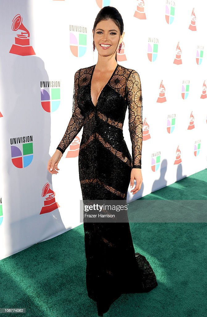 Actress Chiquinquira Delgado arrives at the 11th annual Latin GRAMMY Awards at the Mandalay Bay Resort & Casino on November 11, 2010 in Las Vegas, Nevada.