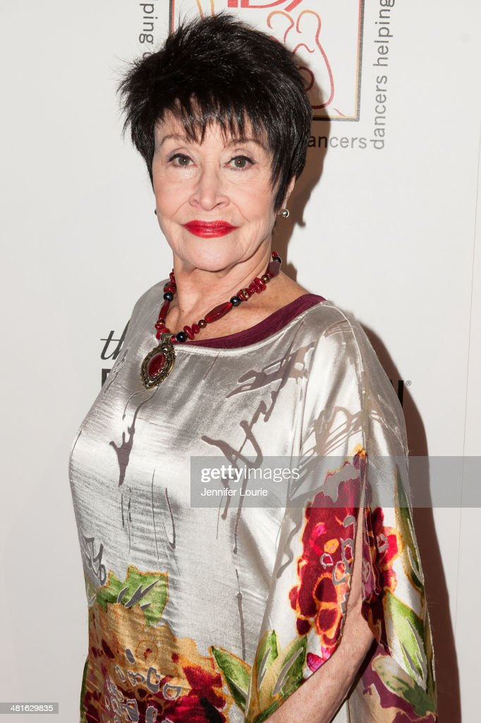 Actress Chita Rivera arrives at the Professional Dancers Society's 27th Annual Gypsy Award Luncheon hosted at The Beverly Hilton Hotel on March 30, 2014 in Beverly Hills, California.