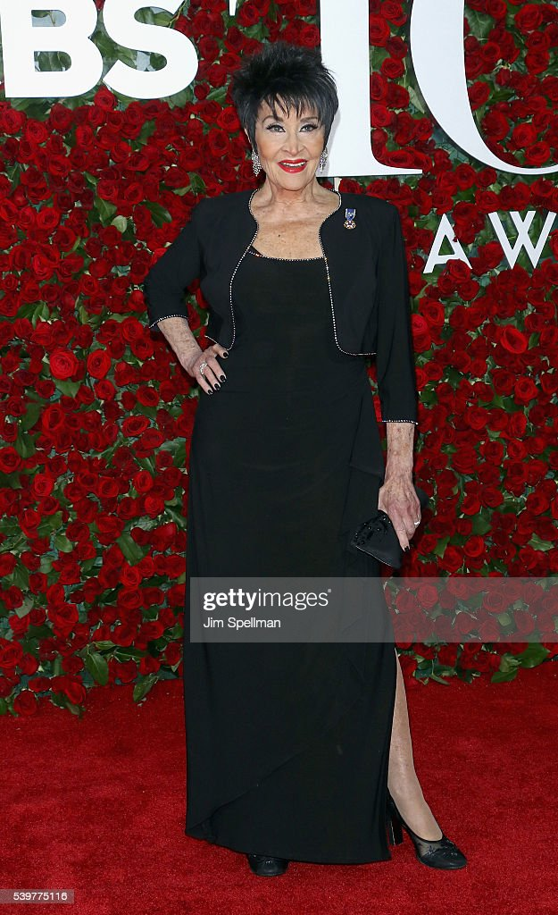 Actress Chita Rivera attends the 70th Annual Tony Awards at Beacon Theatre on June 12, 2016 in New York City.