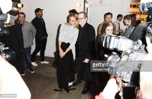 Actress Chloë Sevigny and Actor Steve Buscemi attends the Metrograph Theater 1st Year Anniversary Party at The Metrograph on March 8 2017 in New York...