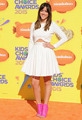 Actress Chloe Bennet arrives at Nickelodeon's 28th Annual Kids' Choice Awards at The Forum on March 28 2015 in Inglewood California
