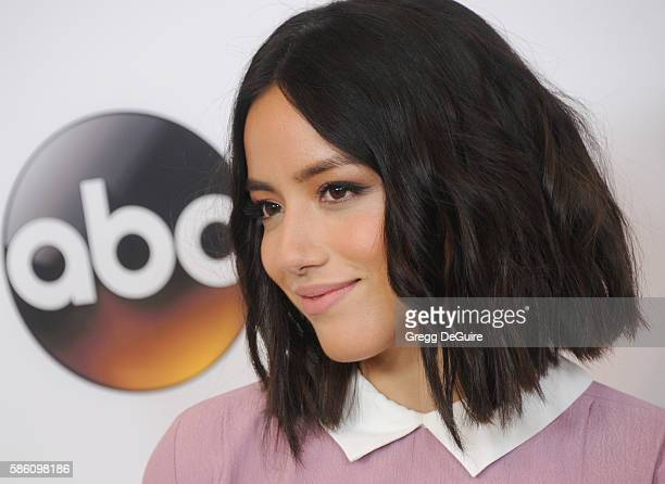 Actress Chloe Bennet arrives at the Disney ABC Television Group TCA Summer Press Tour at the Beverly Hilton Hotel on August 4 2016 in Beverly Hills...