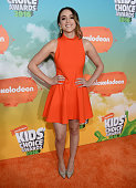 Actress Chloe Bennet attends Nickelodeon's 2016 Kids' Choice Awards at The Forum on March 12 2016 in Inglewood California