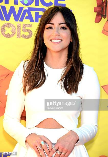 Actress Chloe Bennet attends Nickelodeon's 28th Annual Kids' Choice Awards held at The Forum on March 28 2015 in Inglewood California