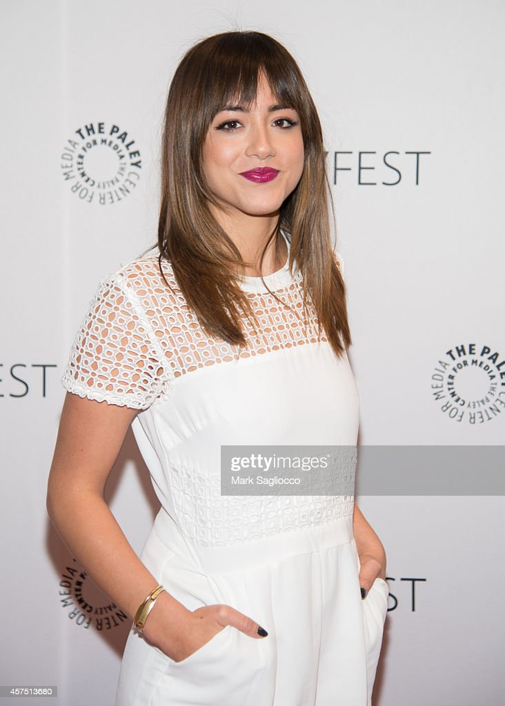 Actress Chloe Bennet attends the 2nd Annual Paleyfest Presentation of 'Marvel Agents of SHIELD' at the Paley Center For Media on October 19 2014 in...
