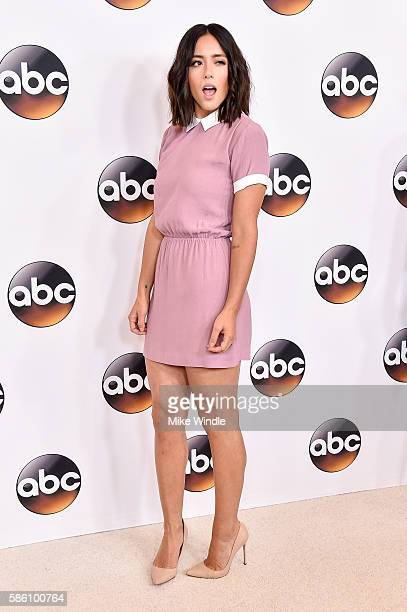 Actress Chloe Bennet attends the Disney ABC Television Group TCA Summer Press Tour on August 4 2016 in Beverly Hills California