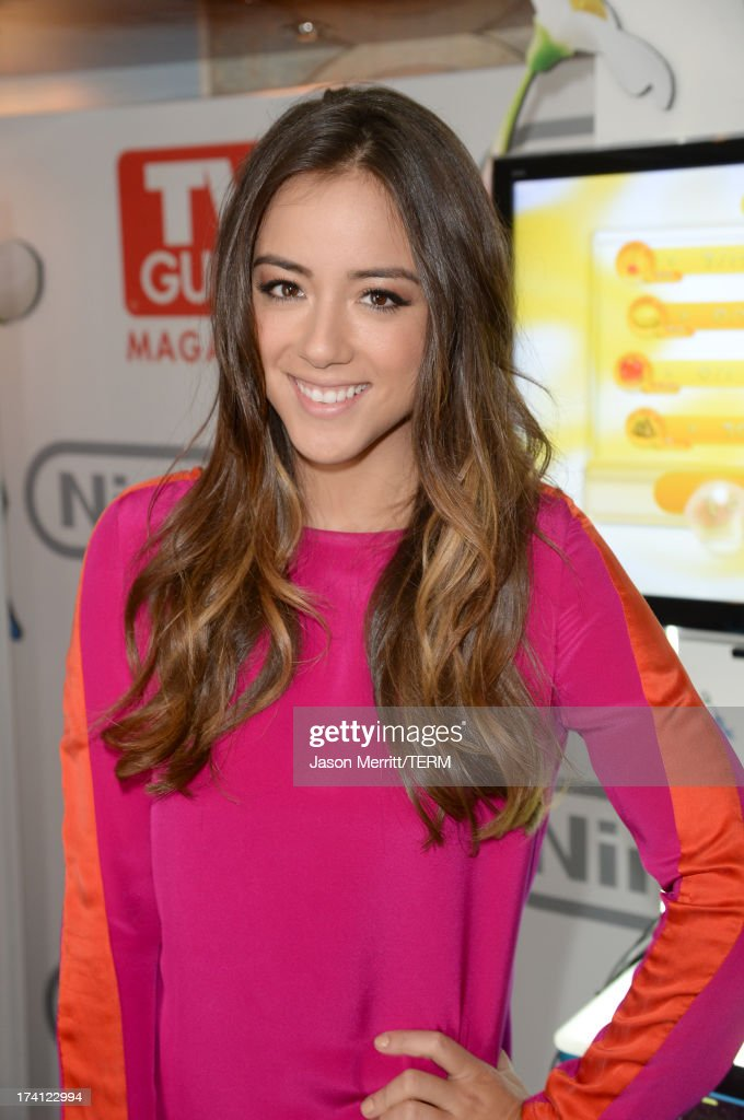 Actress Chloe Bennet attends the Nintendo Oasis on the TV Guide Magazine Yacht at Comic-Con day 3 on July 20, 2013 in San Diego, California.