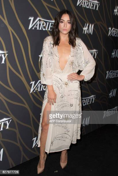 Actress Chloe Bennet attends Variety's Power of Young Hollywood Event on August 8 in Hollywood California / AFP PHOTO / VALERIE MACON