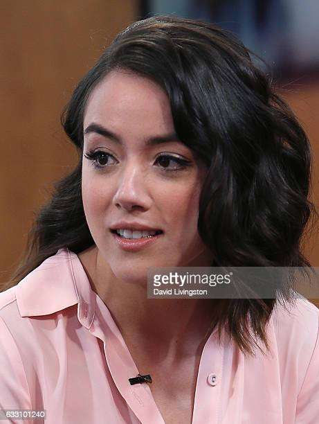 Actress Chloe Bennet visits Hollywood Today Live at W Hollywood on January 30 2017 in Hollywood California