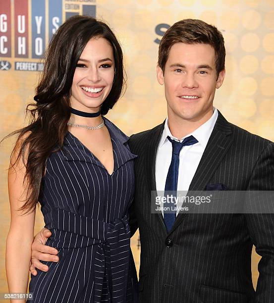 Actress Chloe Bridges and actor Adam DeVine attend Spike TV's Guys Choice 2016 at Sony Pictures Studios on June 4 2016 in Culver City California