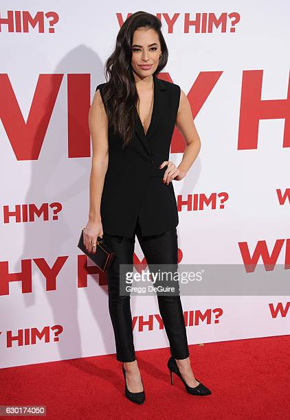 Actress Chloe Bridges arrives at the premiere of 20th Century Fox's 'Why Him' at Regency Bruin Theater on December 17 2016 in Westwood California